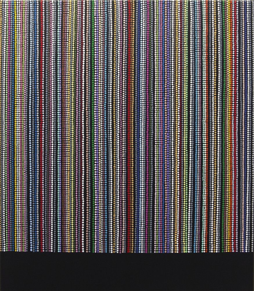 Károly Keserü: Untitled (1802072) – XX. Century Series: Bridget Riley