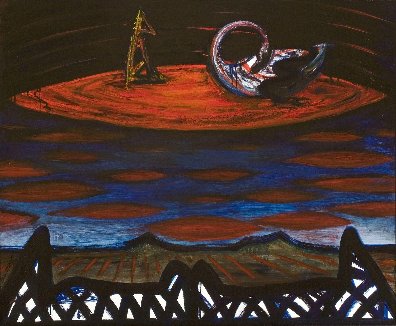 El Kazovszkij: Piros felhő II. / Én és a hattyúm II