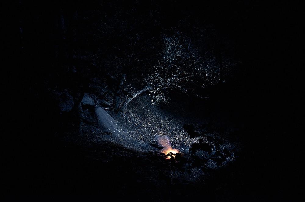 Mátyás Misetics: Landscape, Fire I.