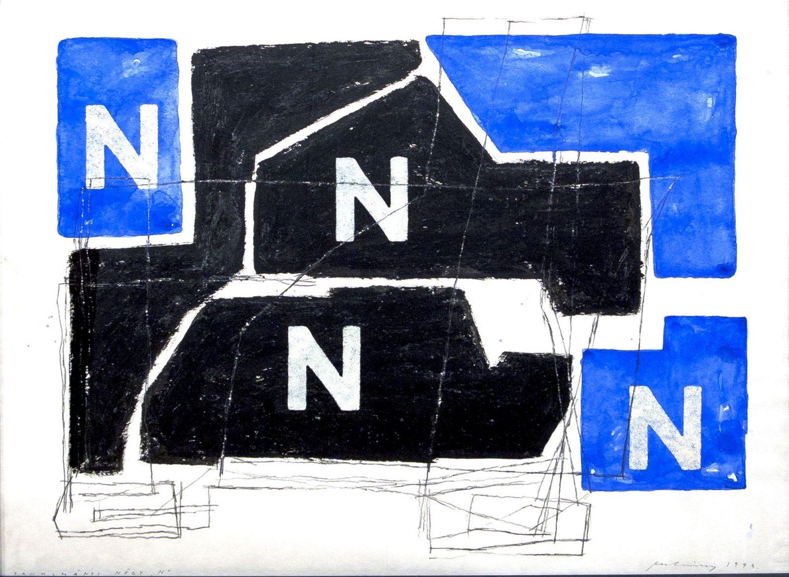 László Mulasics: Study: 4 N