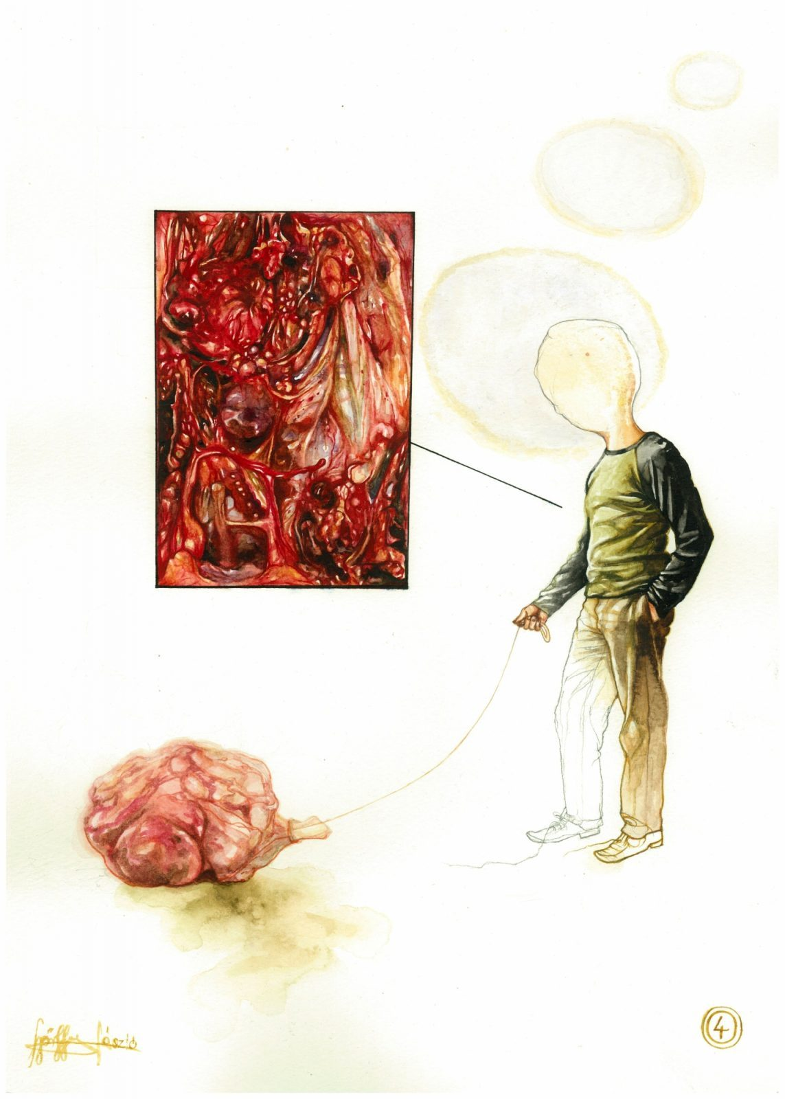 László Győrffy: 12 Ideas For Self-Destruction – Organism in Fucking Trouble Walking a Meat-Bundle