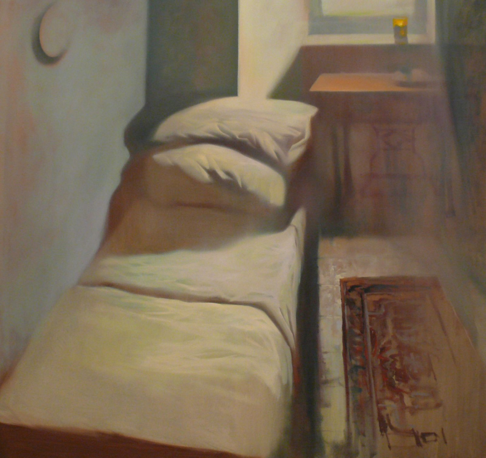 Levente Herman: Portait 8 – Bed