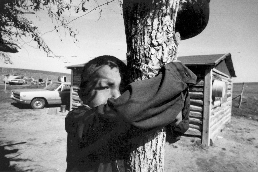 Péter Korniss: The Inhabitant of the Wooden Hut