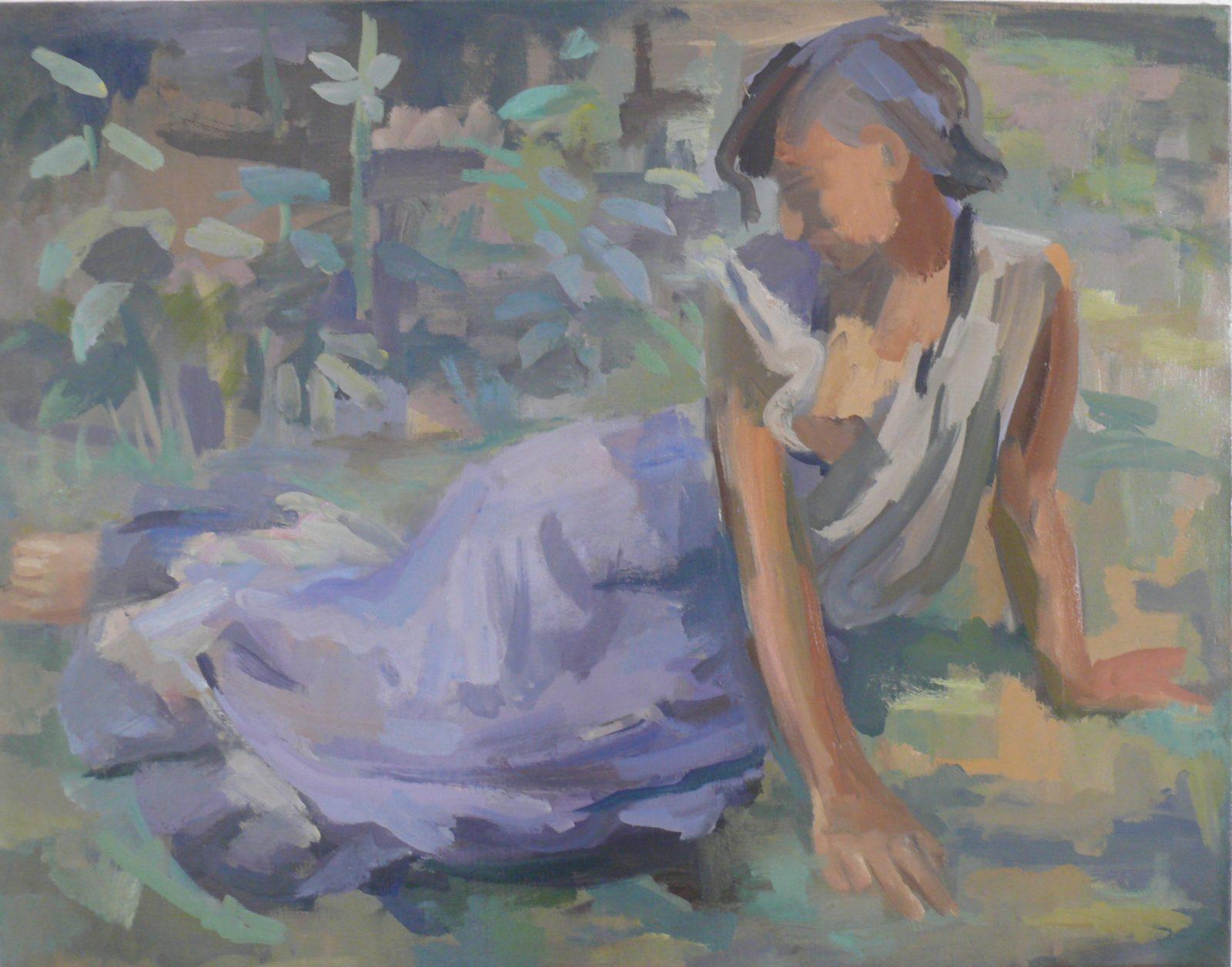 Endre Rozsda: Gipsy girl