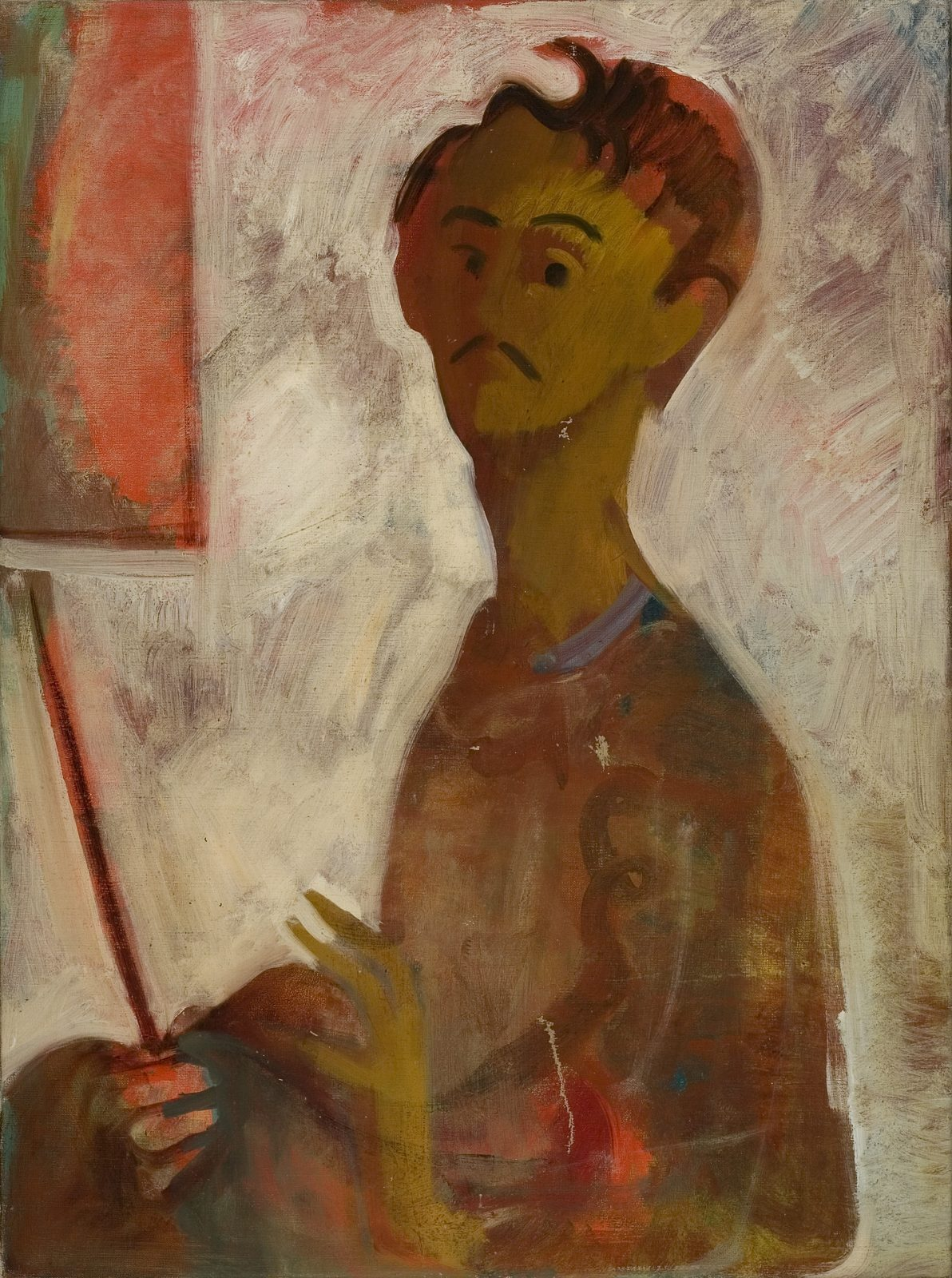 Endre Rozsda: Portrait of the Artist