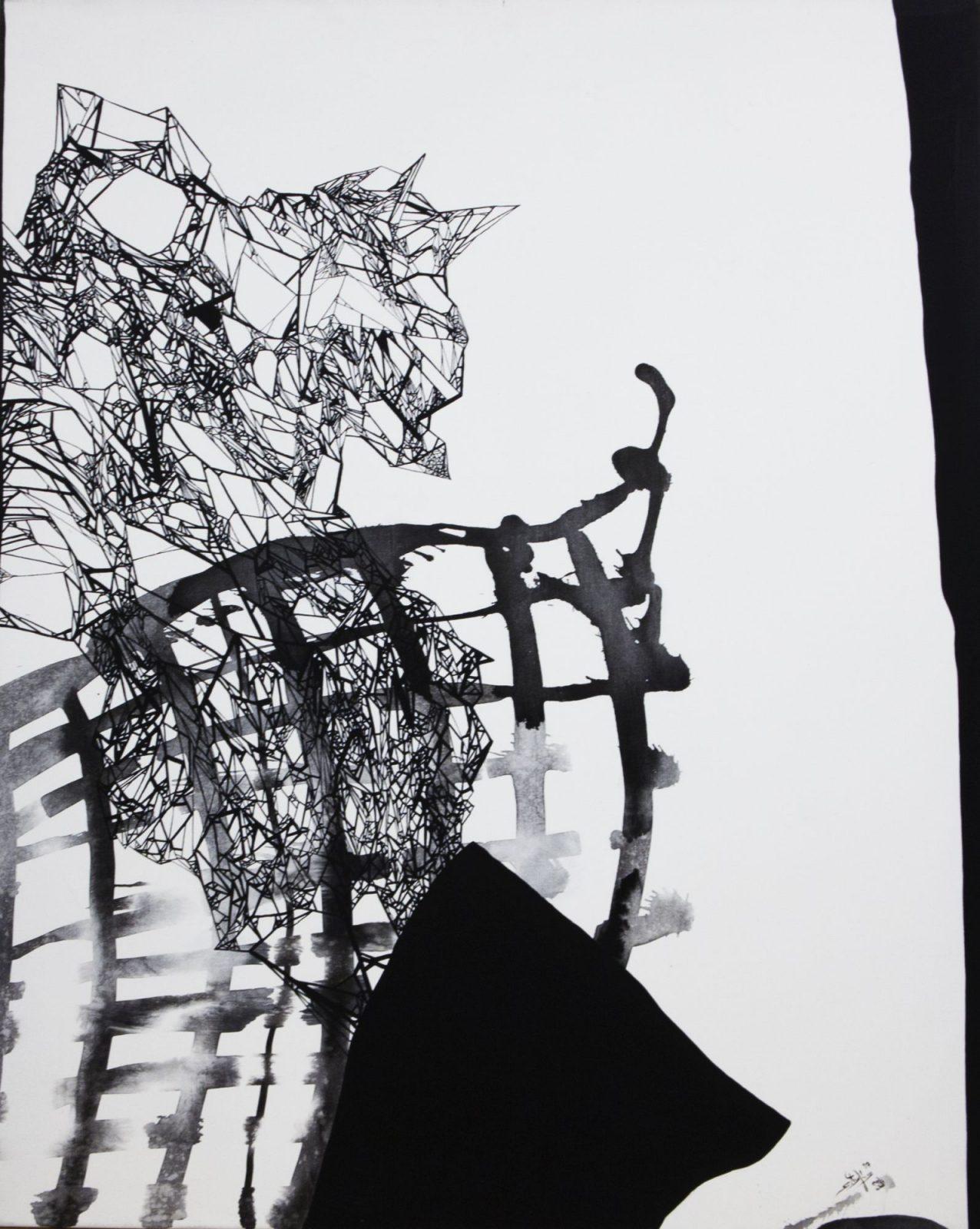 Szirtes János: Fekvő fa 53.