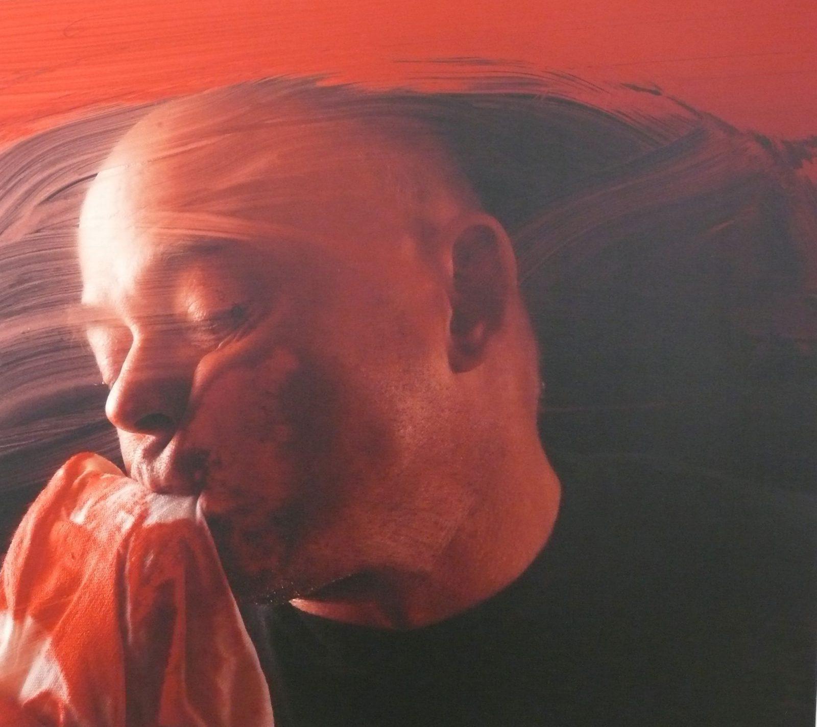 Szirtes János: Pasztózus vörös V.