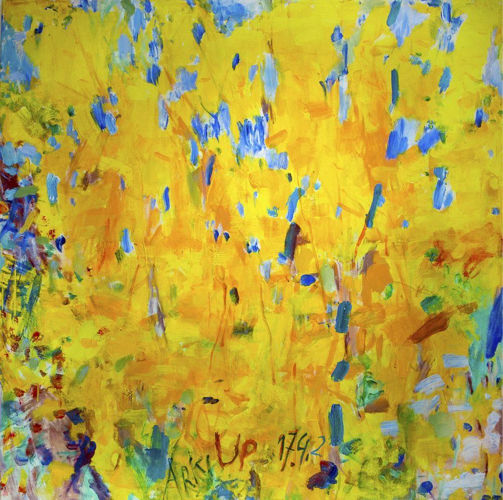 Ujházi Péter: Árki tavasz (sárga)