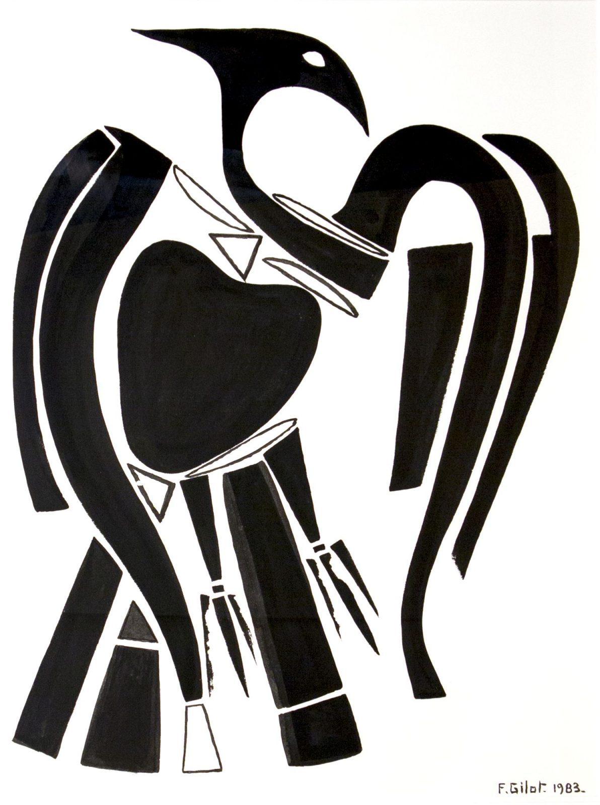 Françoise Gilot: Phoenix Rising I.