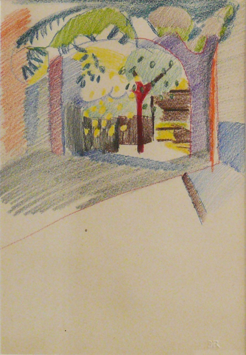 Endre Rozsda: Garden in Mohács