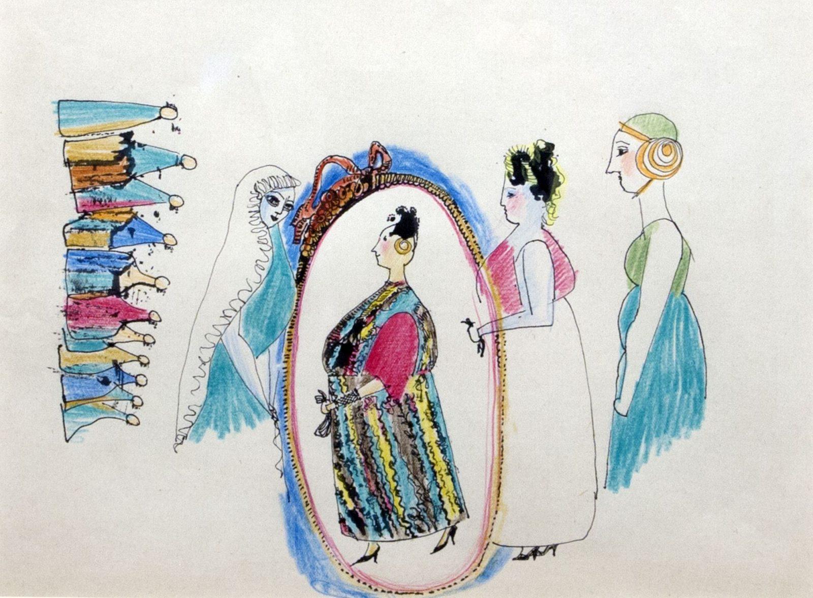 Endre Rozsda: Women's Dream