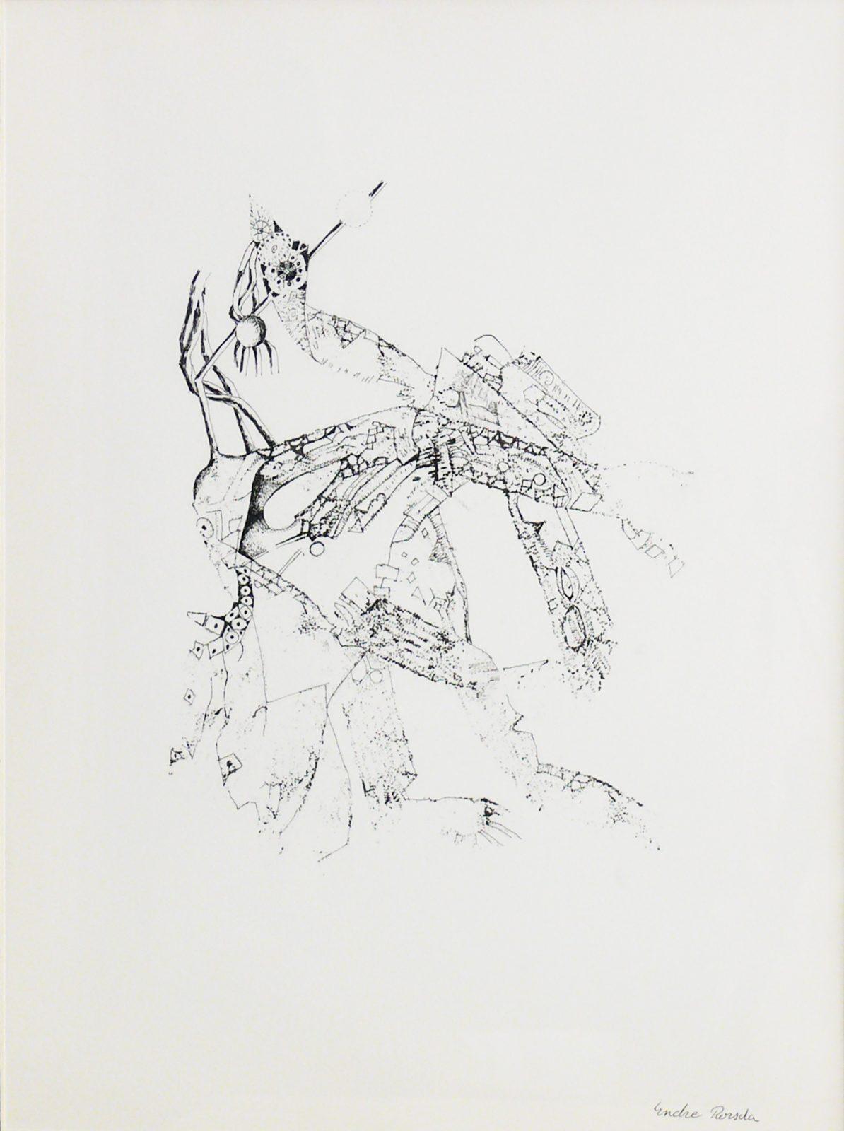 Endre Rozsda: Mythical Animal