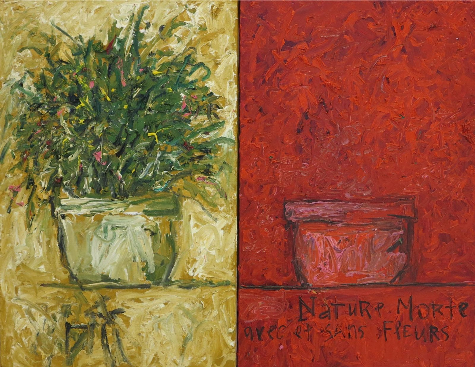 franyo aatoth: Still-Life With and Without Flower