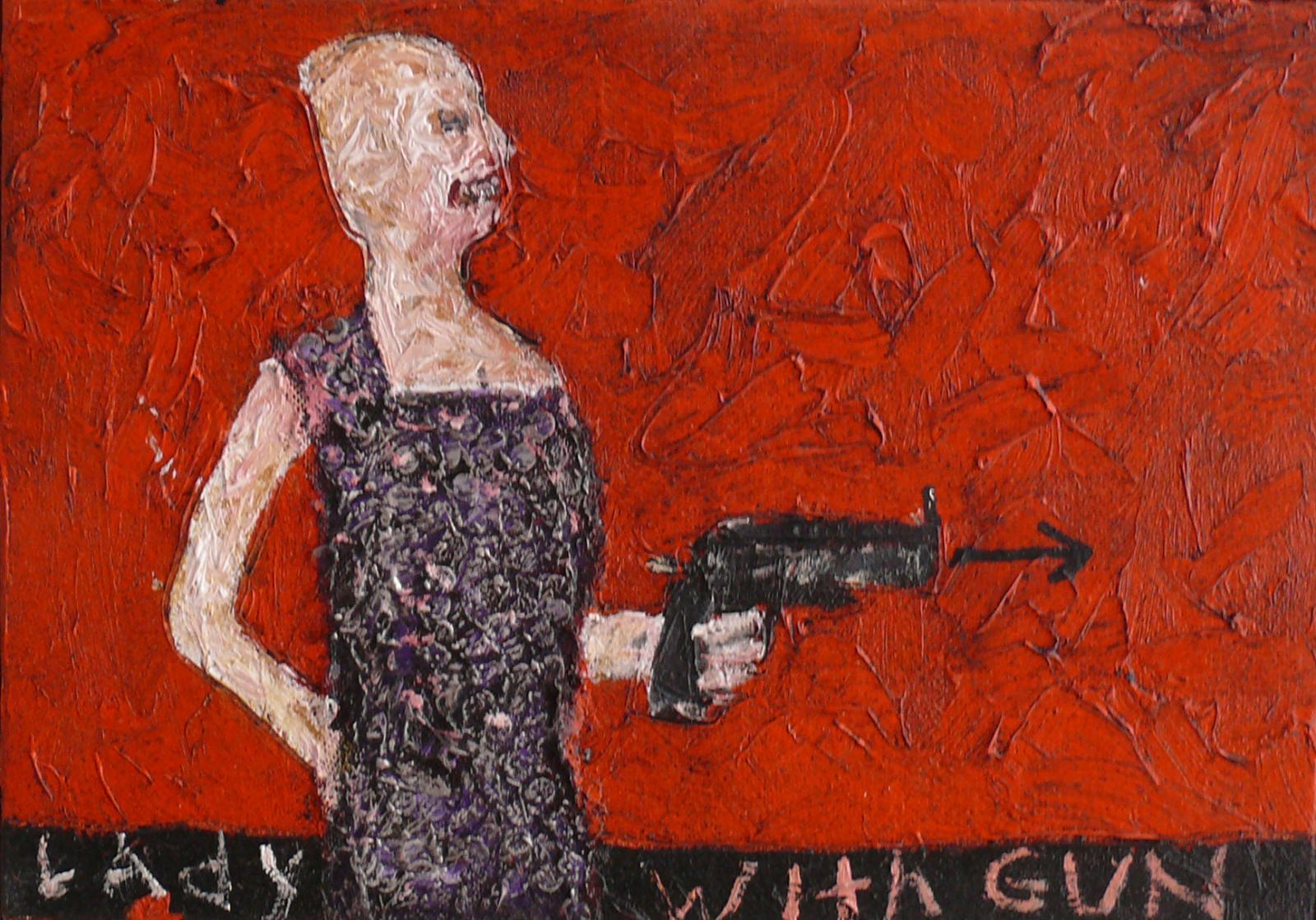 franyo aatoth: Lady With Gun