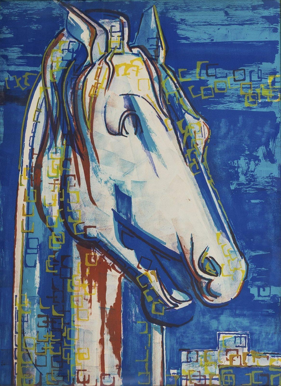 Françoise Gilot: The Greek Horse