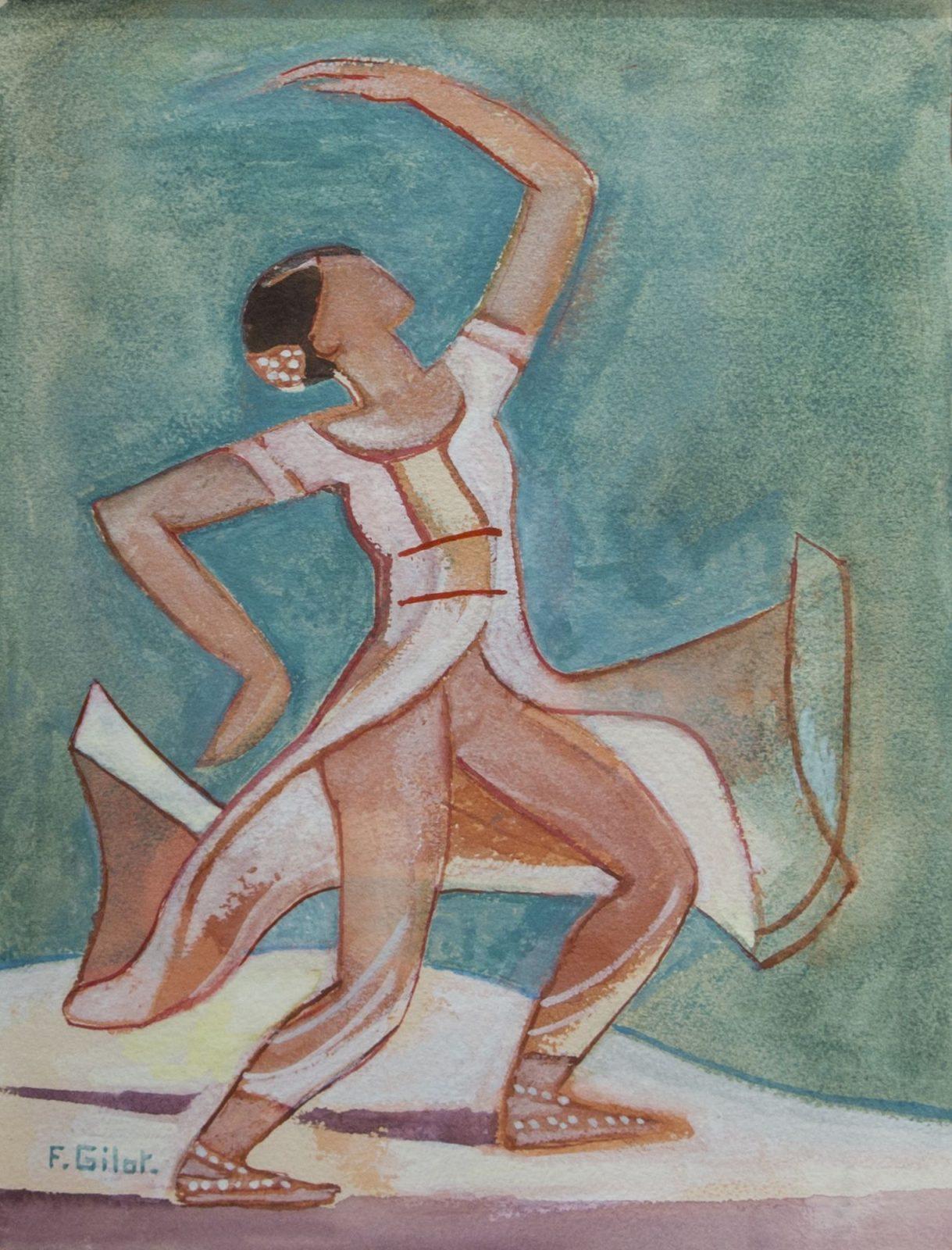 Françoise Gilot: Indian Dancer