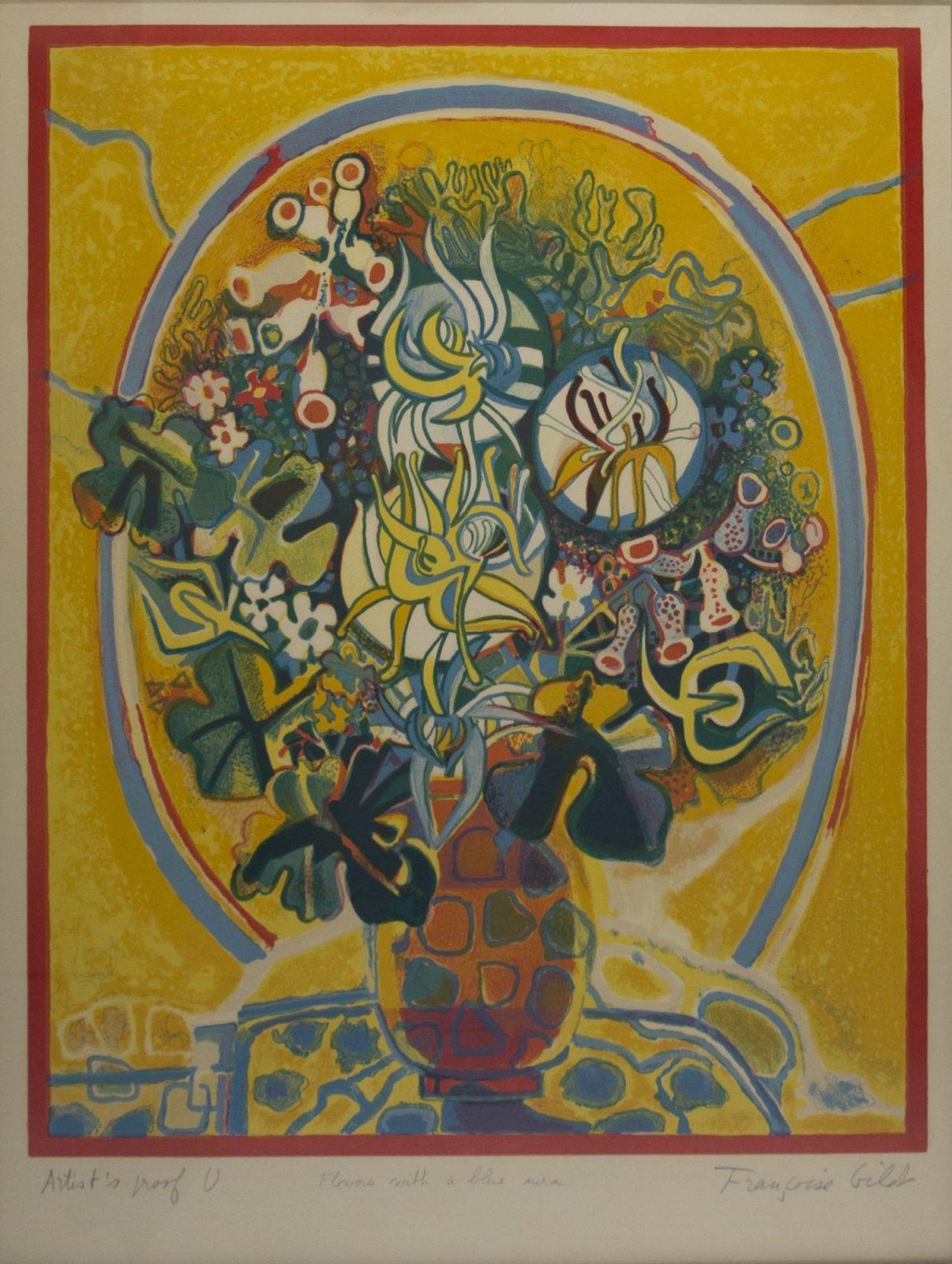 Françoise Gilot: Flowers in the Sunshine