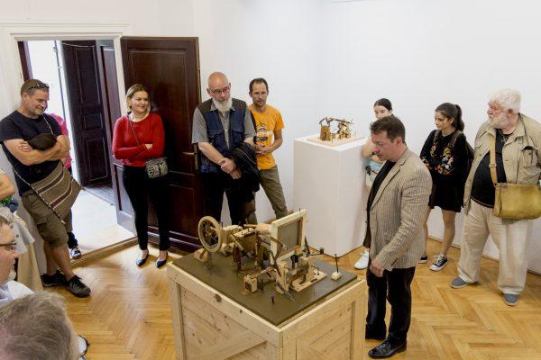 Győrffy László kiállítása Csíkszeredában