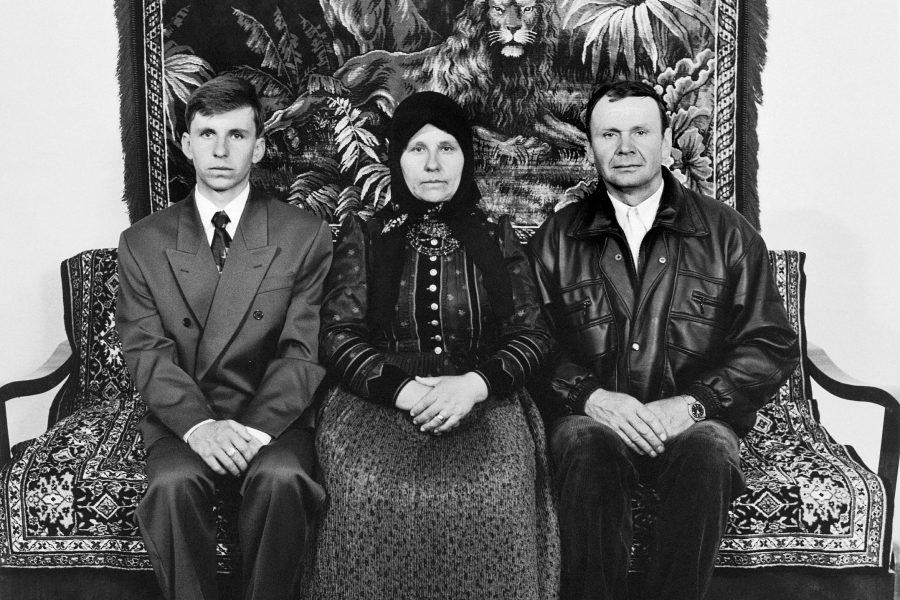 Korniss Péter: Férj, felesége és fiuk