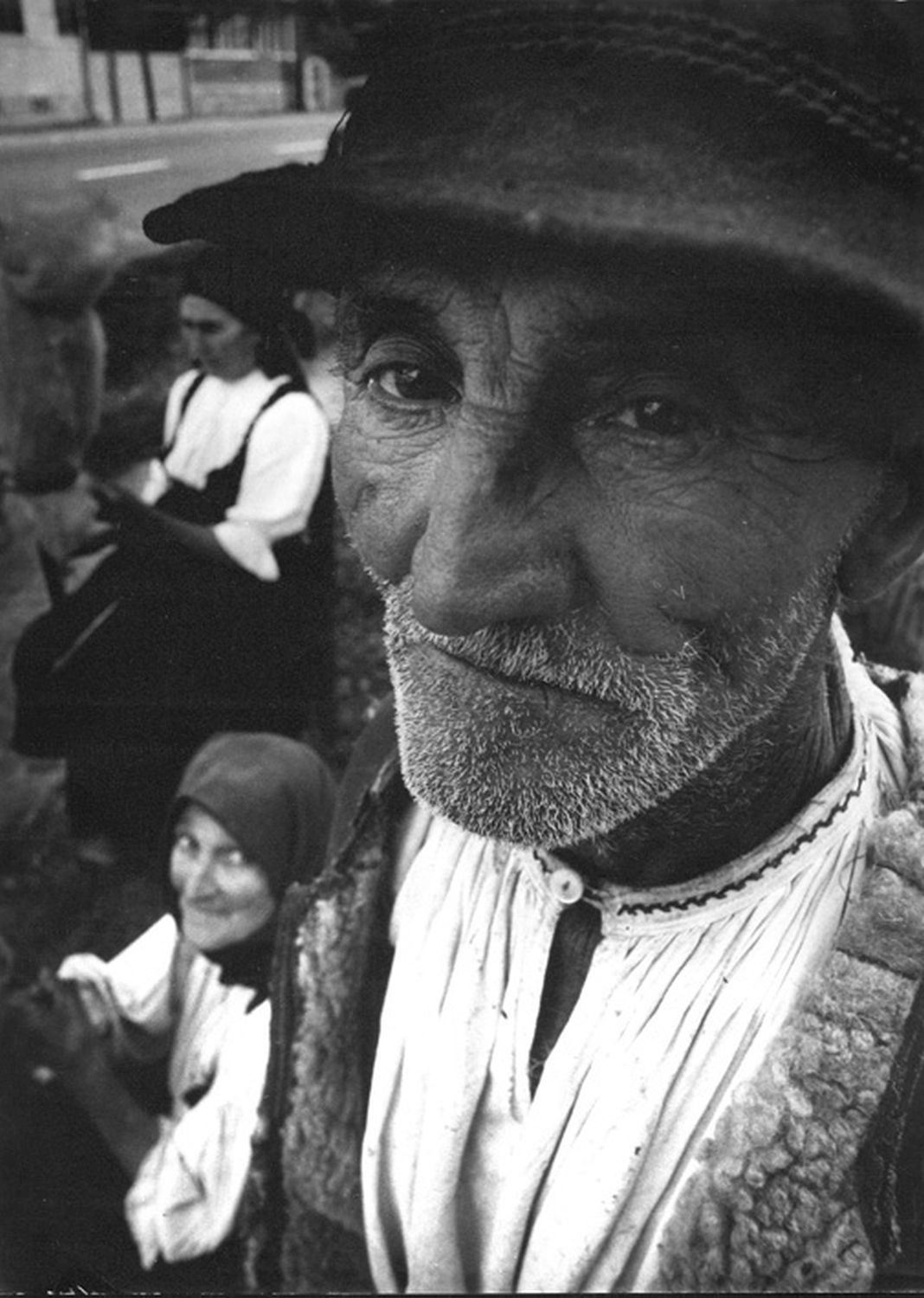 Péter Korniss: Old Man with Old Women