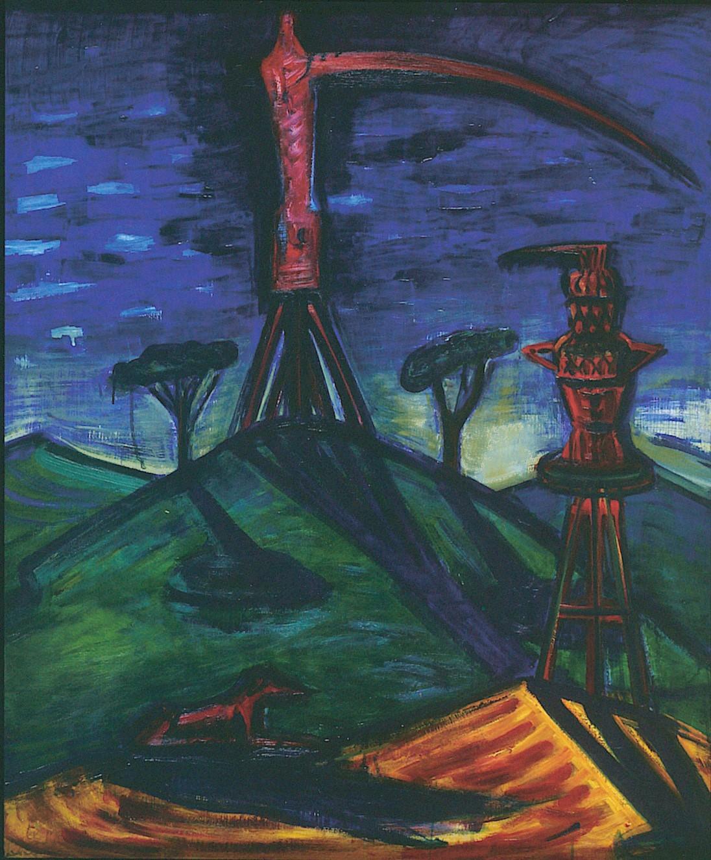 El Kazovszkij: Monument