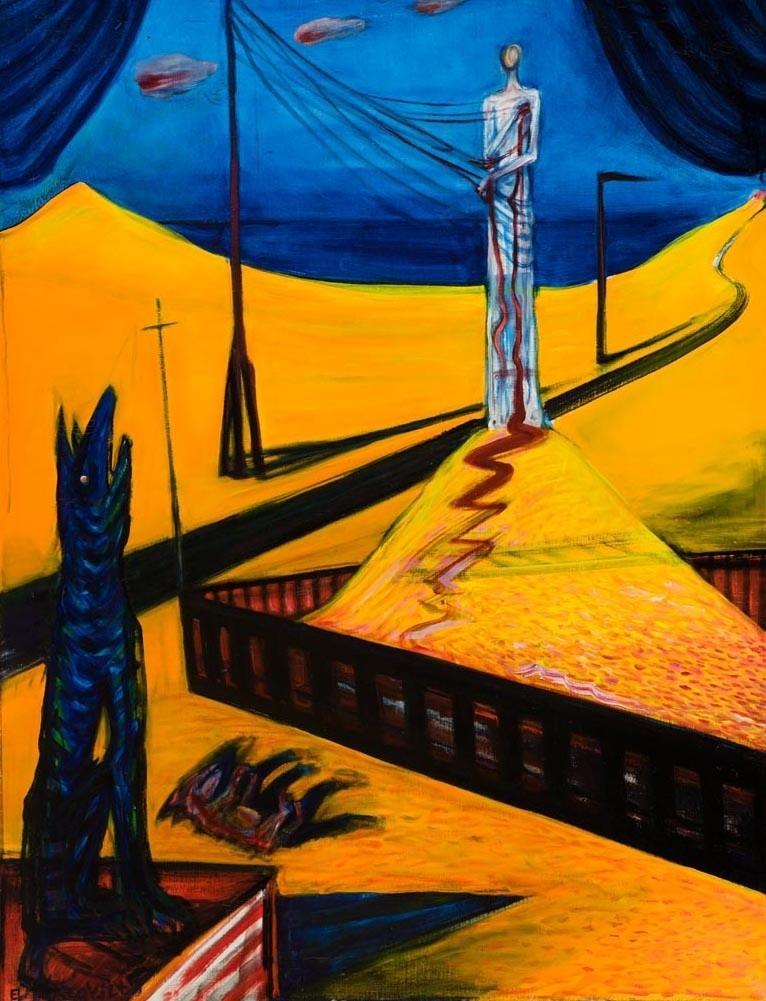 El Kazovszkij: Sivatagi homkozó III.