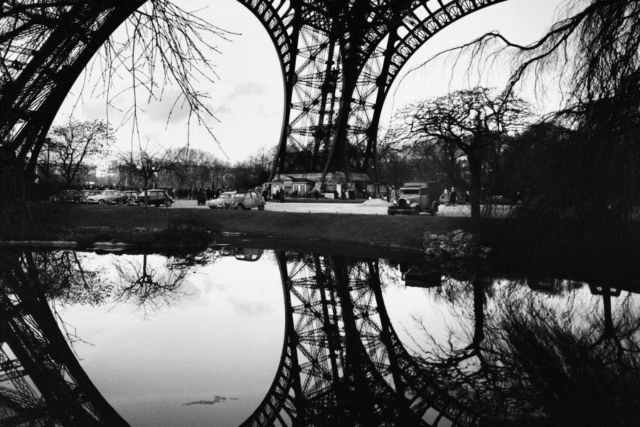 Lucien Hervé: Eiffel torony – reflexió