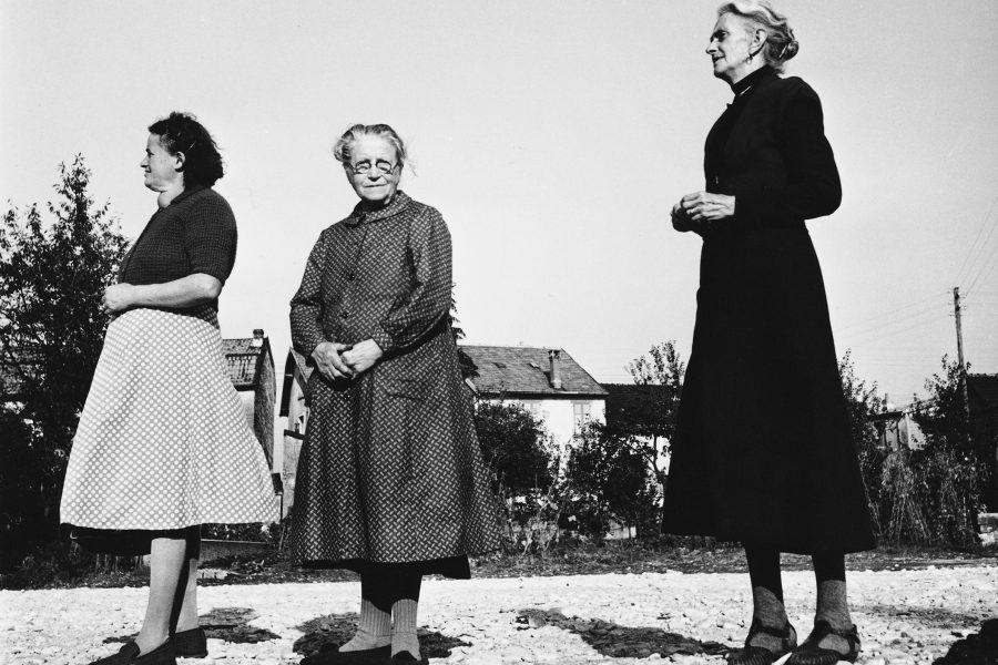 Lucien Hervé: Három asszonyság