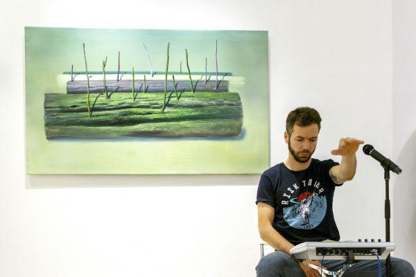Sirokai Mátyás A vándorfák lüktetése_Herman Levente kiállításán_2018 (2)
