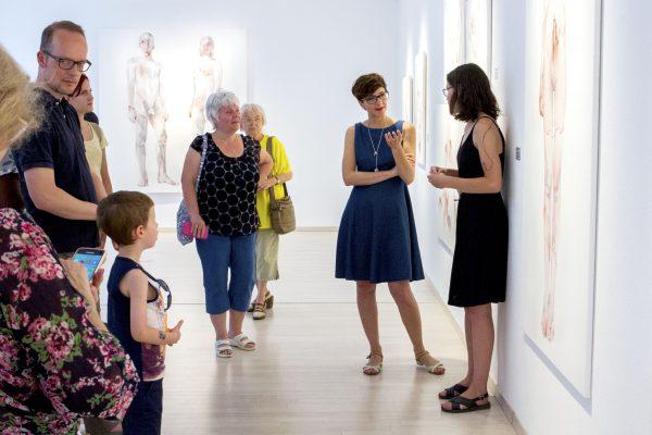 Tárletvezetés Nemes Annával a kiállításán (10)