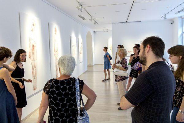 Tárletvezetés Nemes Annával a kiállításán (3)