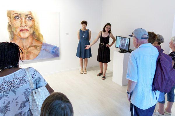Tárletvezetés Nemes Annával a kiállításán (5)