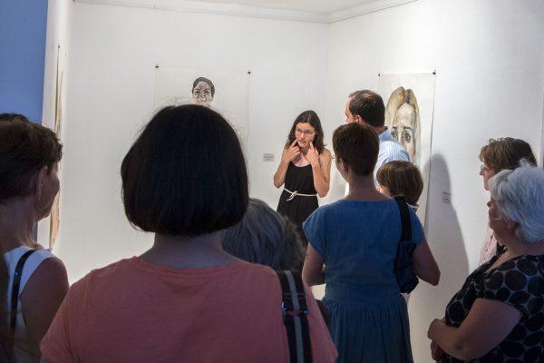 Tárletvezetés Nemes Annával a kiállításán (6)