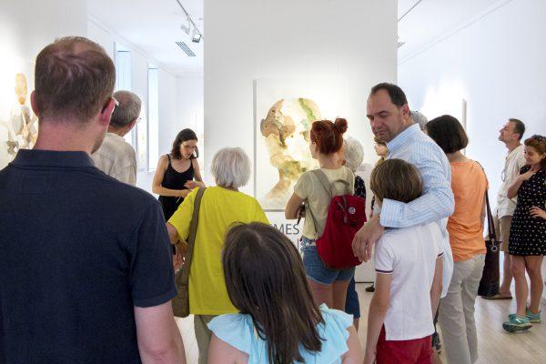 Tárletvezetés Nemes Annával a kiállításán (7)