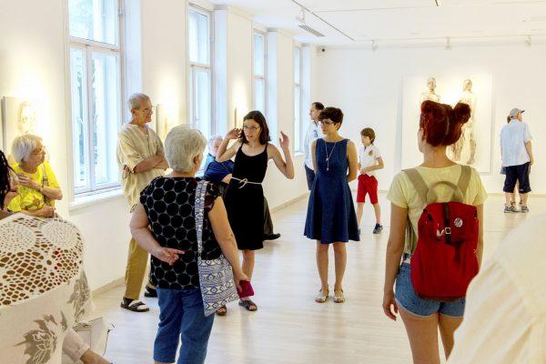Tárletvezetés Nemes Annával a kiállításán (8)