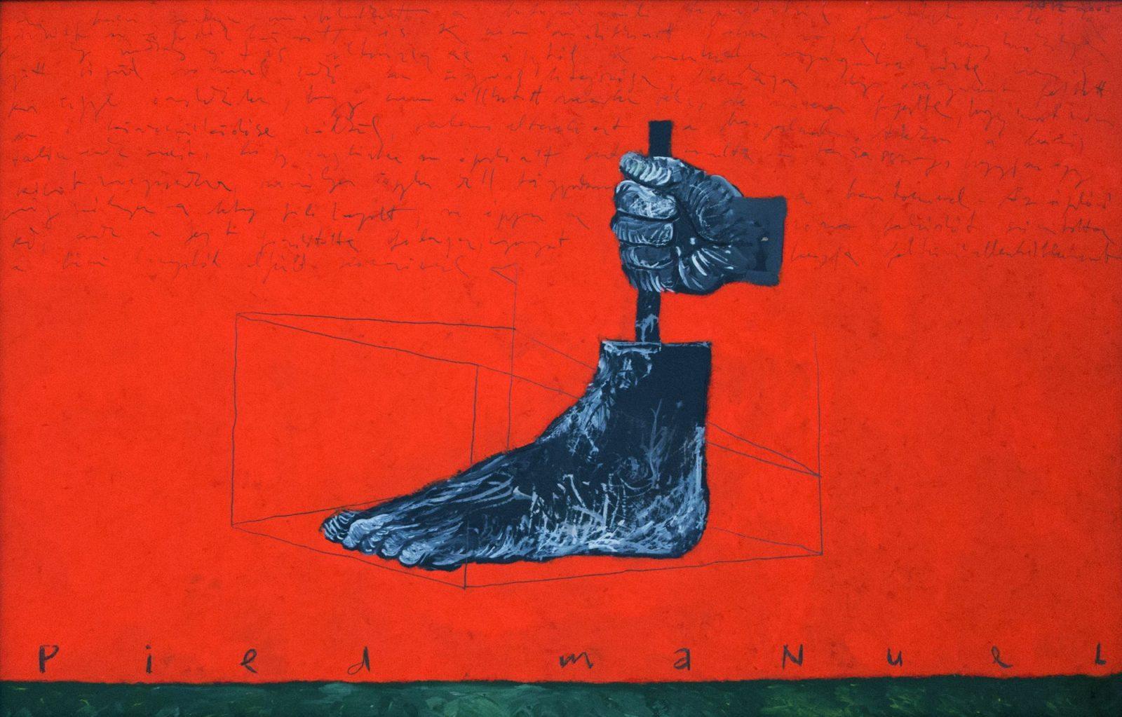 aatoth franyo: Manuális láb