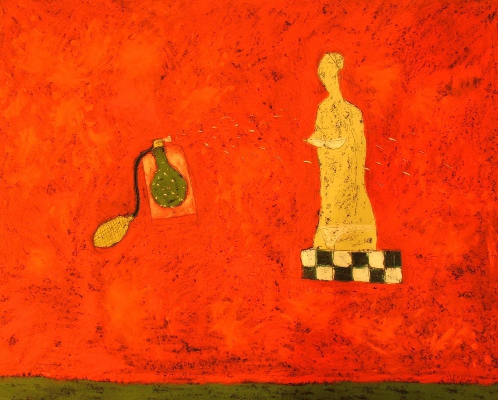 franyo aatoth: Woman with Perfume (Strange Odors)