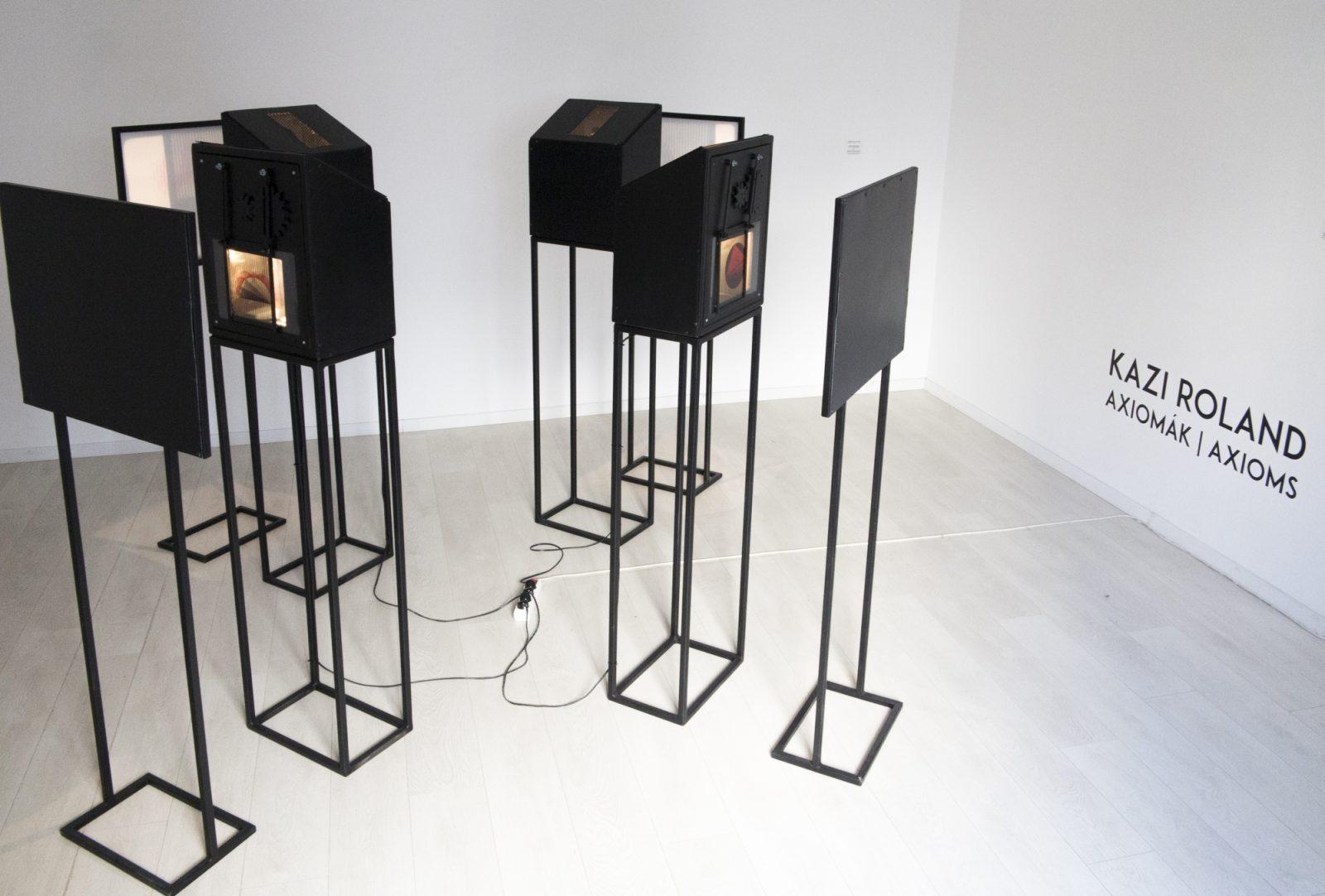Roland Kazi: Axioms – interior