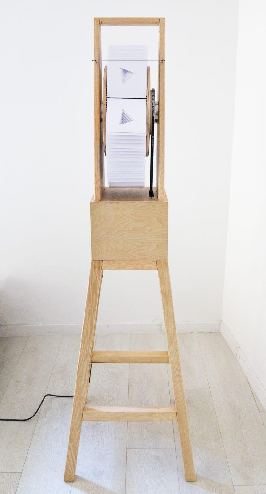 Kazi Roland: Perforált mutoszkóp oktaéderre