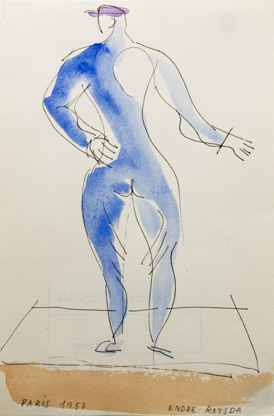 Endre Rozsda: Watercolour II.