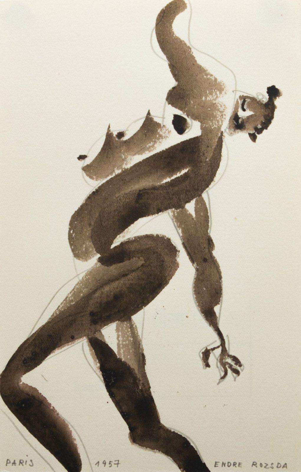 Endre Rozsda: Watercolour III.