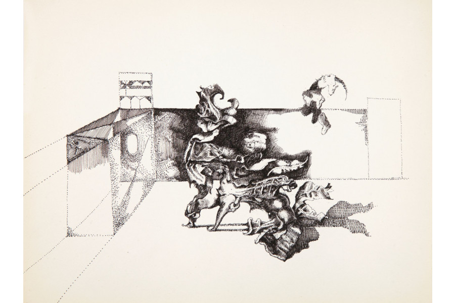 Endre Rozsda: My Little Dog I.
