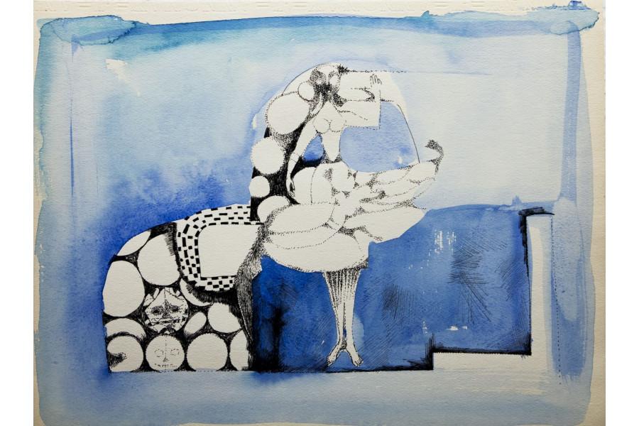 Rozsda Endre: Cím nélkül (A kentaur esküvője)
