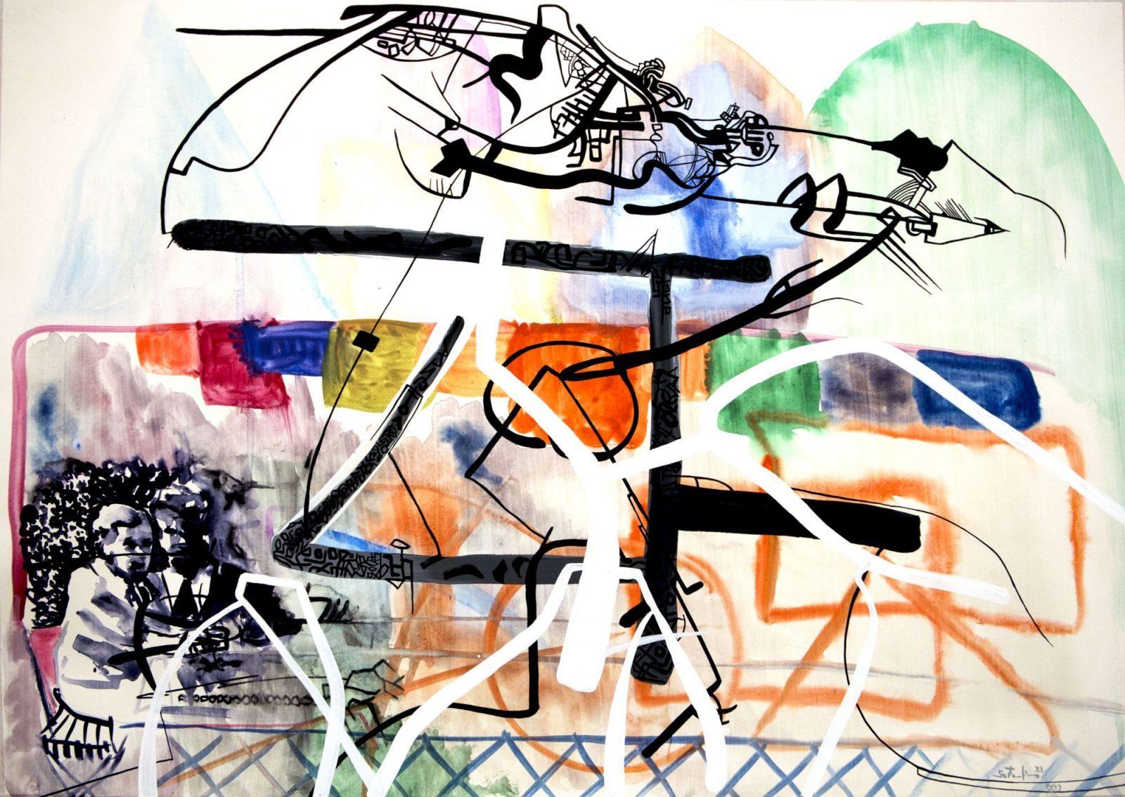 János Szirtes: Sketch 4
