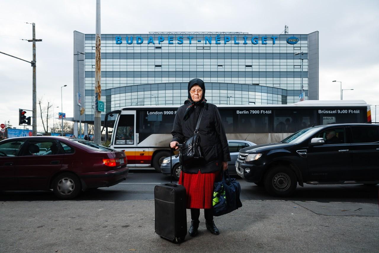 Korniss Péter: Autóbusz-pályaudvaron