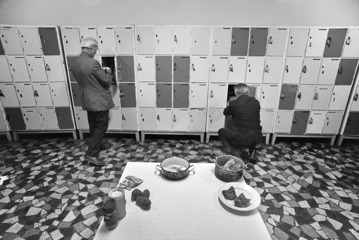 Péter Korniss: In front of Food Lockers