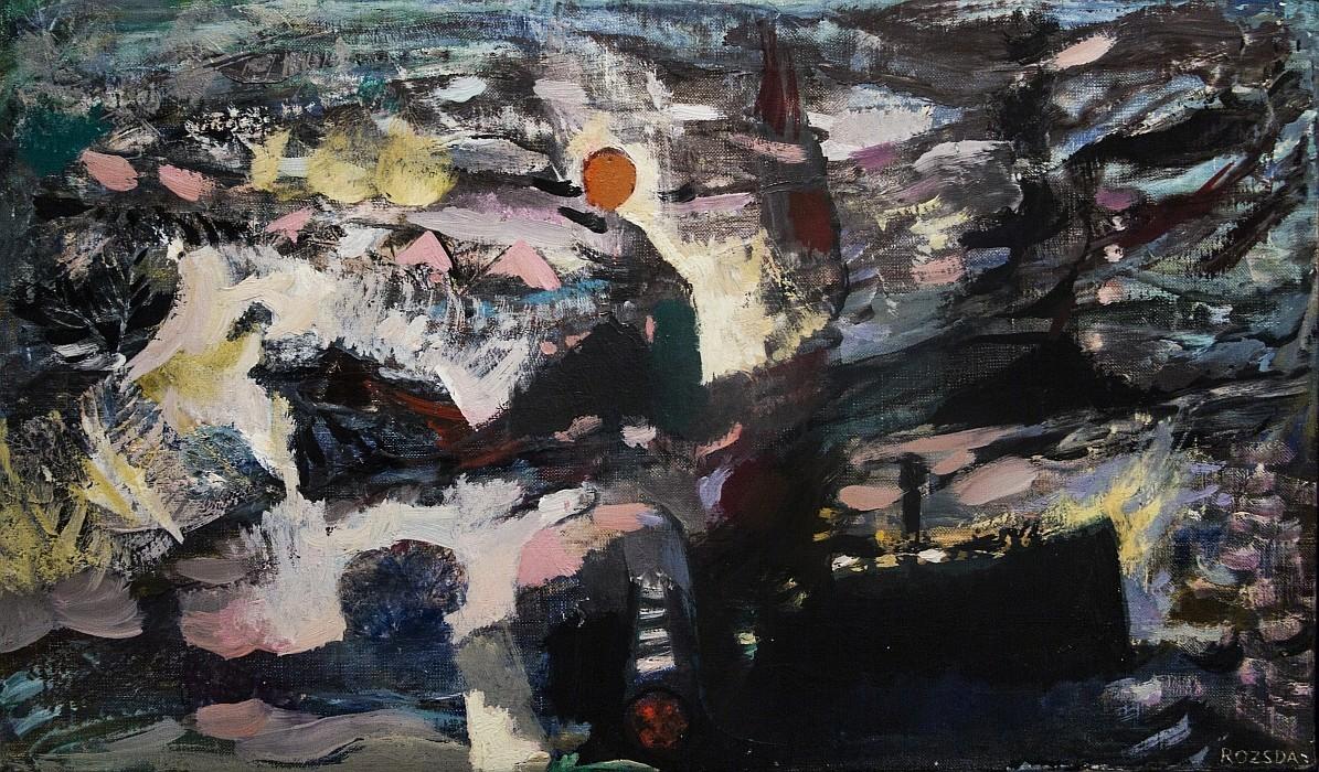 Endre Rozsda: Western Wind