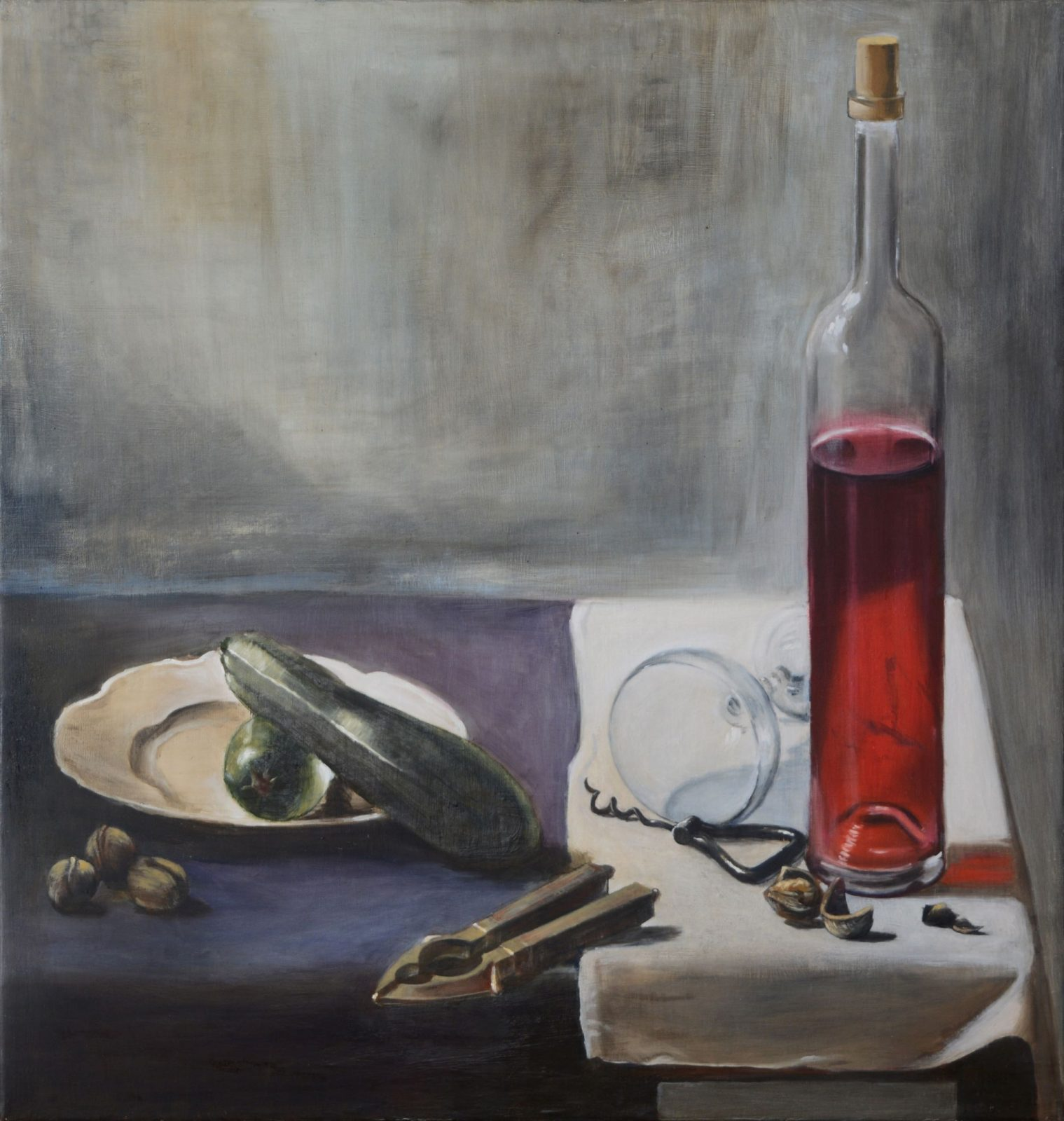 Máté Orr: Still Life with Courgette