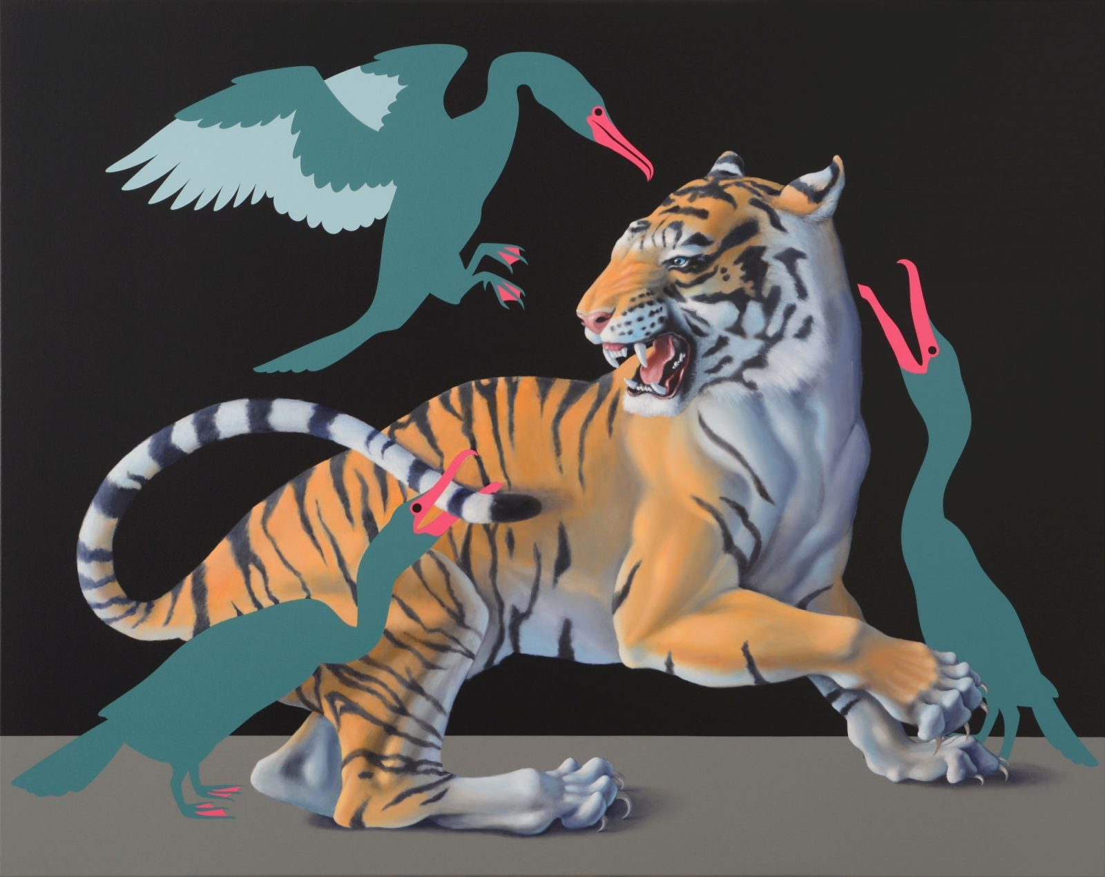 Máté Orr: Tiger and Cormorants