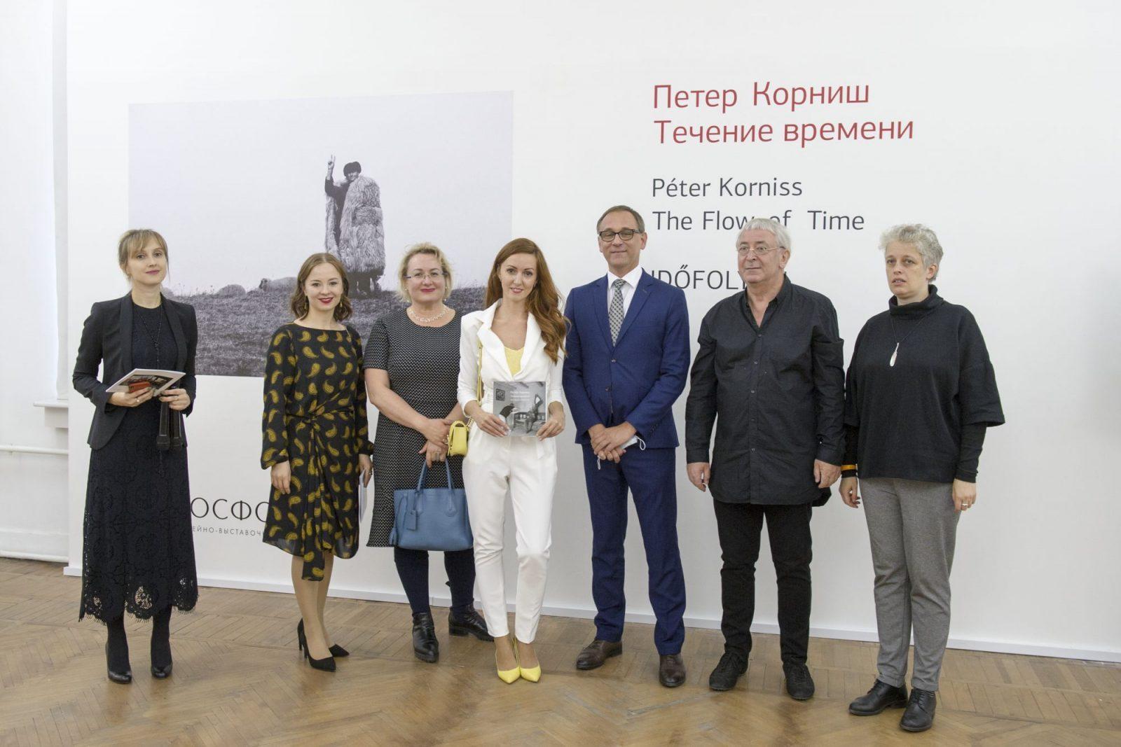 Korniss Péter kiállítása Szentpéterváron, 2020.